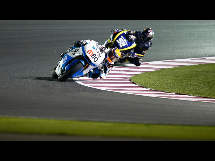 MotoGP Season 2013 - 80esteverabatjuevesmoto2 fp1qatar s1d8526 slideshow