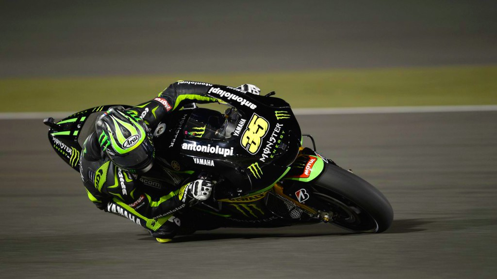 Cal Crutchlow, Monster Yamaha Tech 3, Qatar FP3