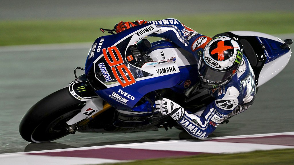 Jorge Lorenzo, Yamaha Factory Racing, Qatar FP3
