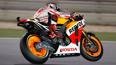 Marc Marquez, Repsol Honda Team, Qatar FP3
