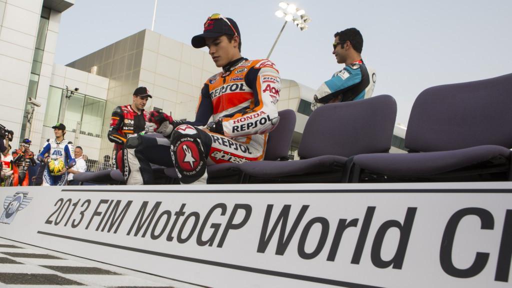 Marc Marquez, Repsol Honda Team, Losail Circuit, Qatar