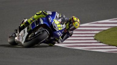 Valentino Rossi, Yamaha Factory Racing, Qatar FP3