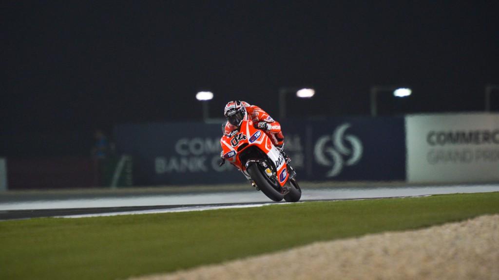Andrea Dovizioso, Ducati Team, Qatar Q2