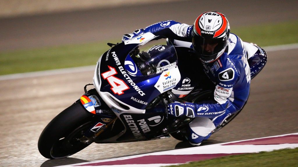Randy de Puniet, Power Electronics Aspar, Qatar Q1