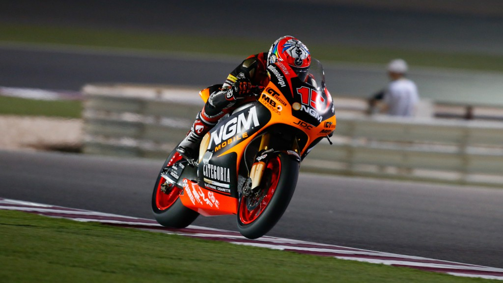 Alex de Angelis, NGM Mobile Forward Racing, Qatar QP
