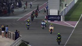 World Champion Jorge Lorenzo led the way as Free Practice 1 opened the 2013 MotoGP™ season under lights at the Losail International Circuit on Thursday.