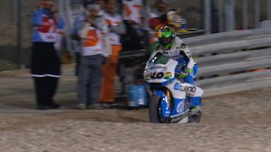 Qatar 2013 - Moto2 - QP - Action - Pol Espargaro - Crash