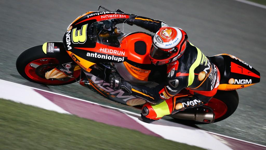 Simone Corsi, NGM Mobile Racing, Qatar QP