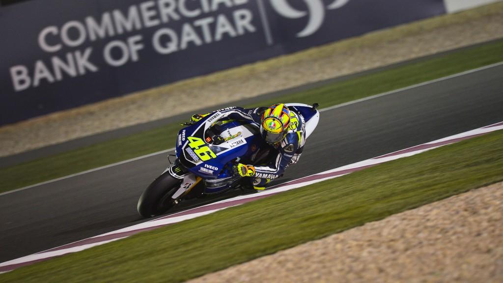Valentino Rossi, Yamaha Factory Racing, Qatar Q2