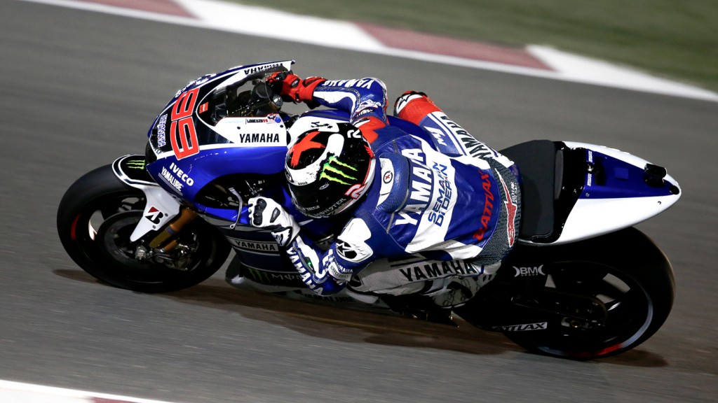 Jorge Lorenzo, Yamaha Factory Racing, Qatar Q2