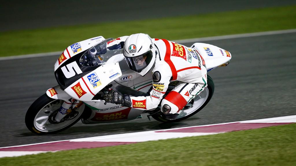 Romano Fenati, San Carlo Team Italia, Qatar RAC