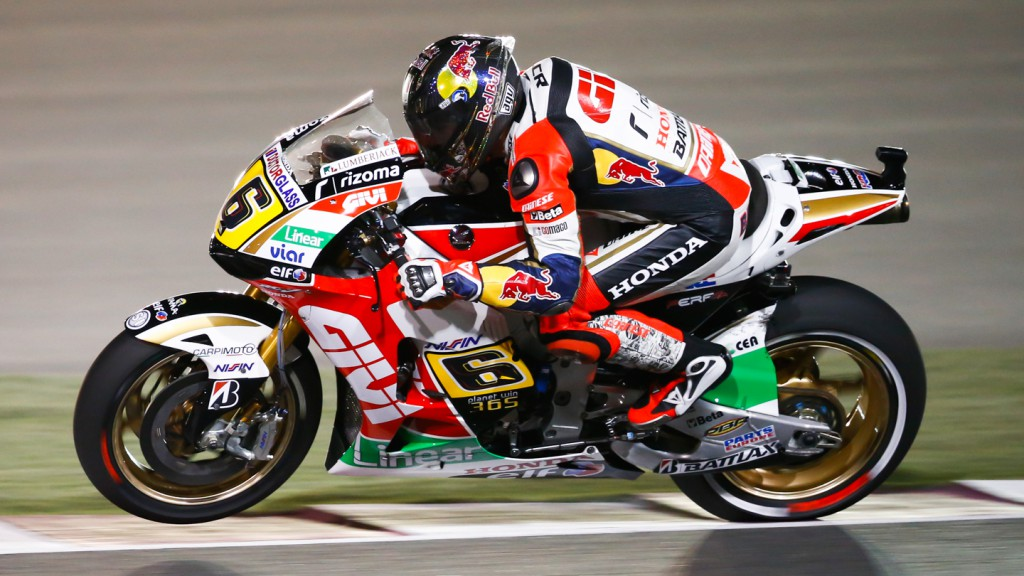 Stefan Bradl, LCR Honda MotoGP, Qatar RAC