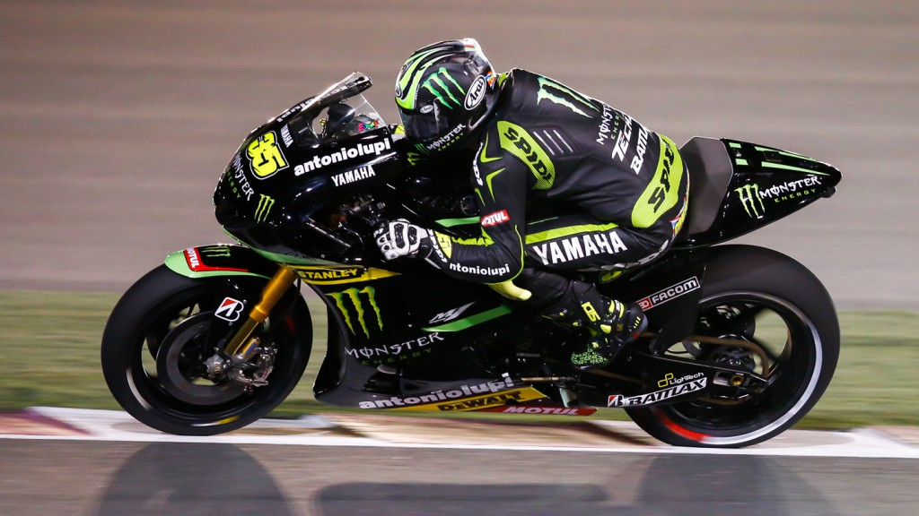 Cal Crutchlow, Monster Yamaha Tech 3, Qatar RAC