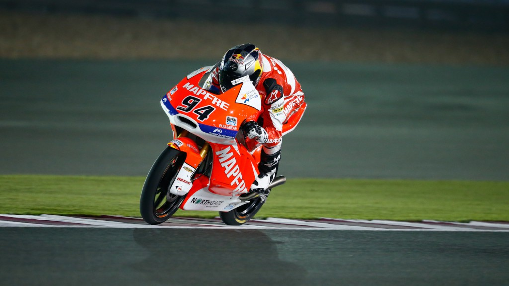 Jonas Folger, Mapfre Aspar Team Moto3, Qatar RAC