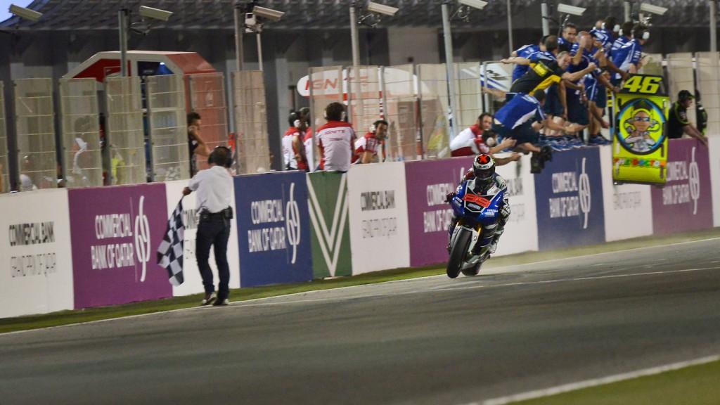 Jorge Lorenzo, Yamha Factory Racing, Qatar RAC