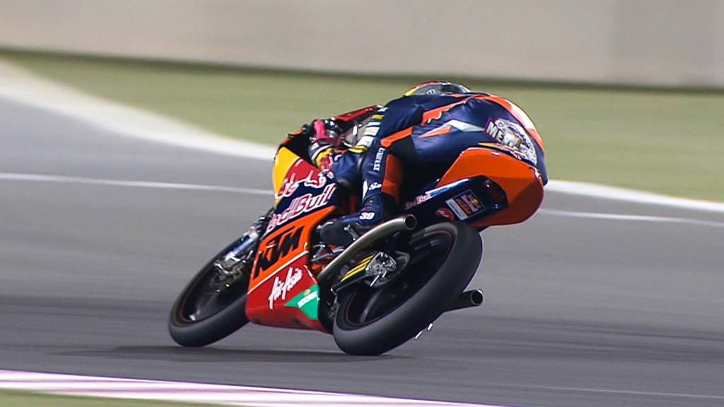 Luis Salom, Red Bull KTM Ajo, Qatar RAC
