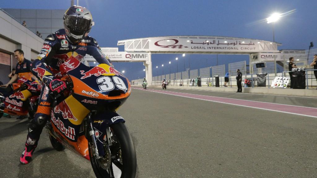 Luis Salom, Red Bull KTM Ajo, Qatar
