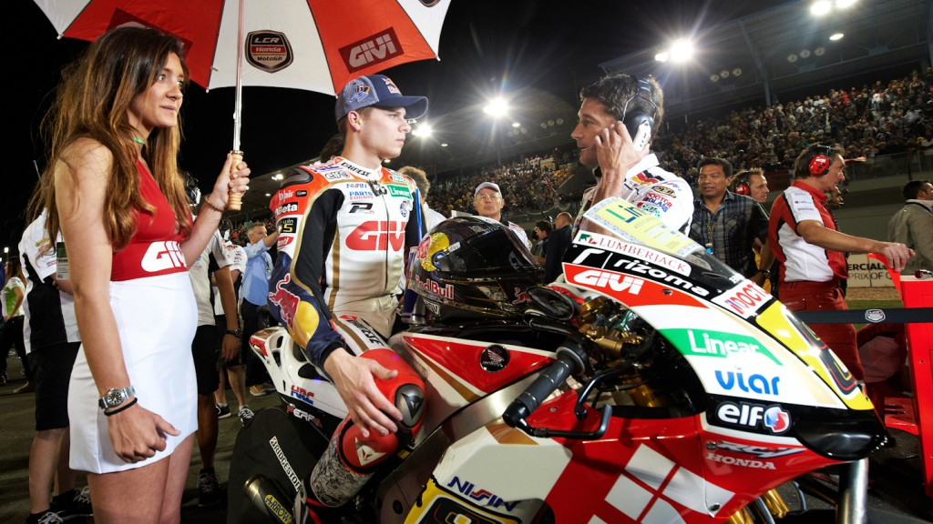 Stefan Bradl, LCR Honda MotoGP, Qatar RAC - © Copyright Alex Chailan & David Piolé