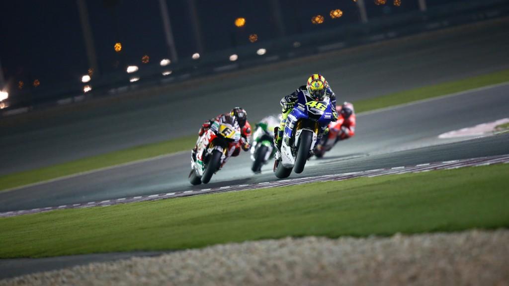Valentino Rossi, Yamaha Factory Racing, Qatar RAC