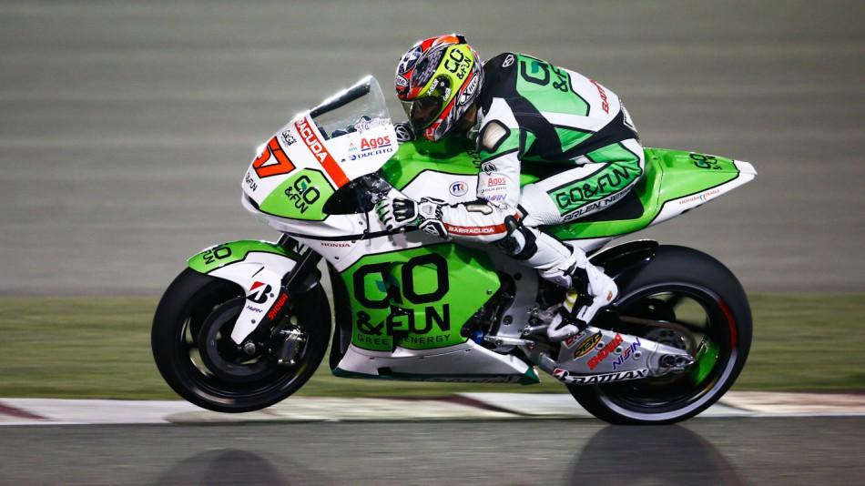 motogp.com · Bryan Staring, GO&FUN Honda Gresini, Qatar RAC