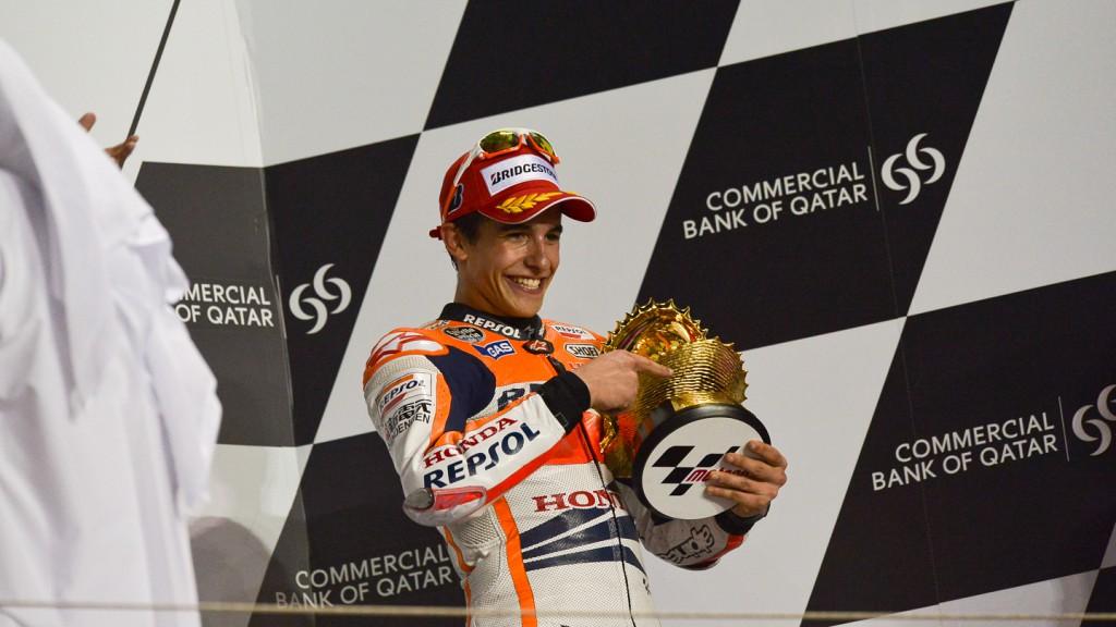 Marc Marquez, Repsol Honda Team, Qatar RAC