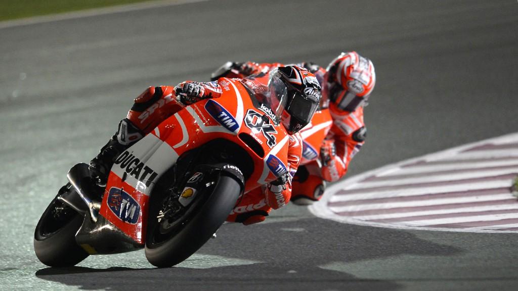 Andrea Dovizioso, Ducati Team, Qatar RAC