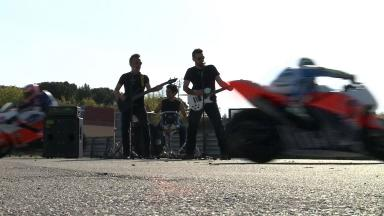 The making of the Espargaró music video