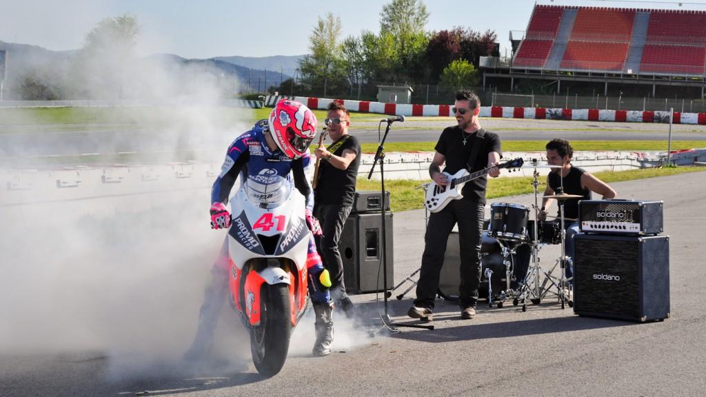 Espargaro´s Show, Montmelo Circuit