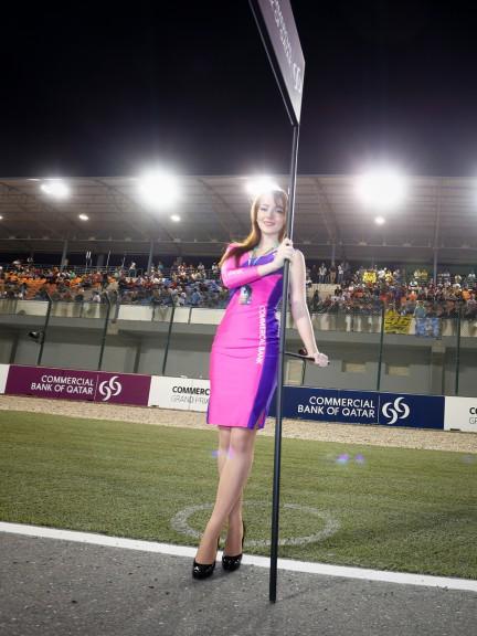 Paddock Girl, Commercial Grand Prix of Qatar