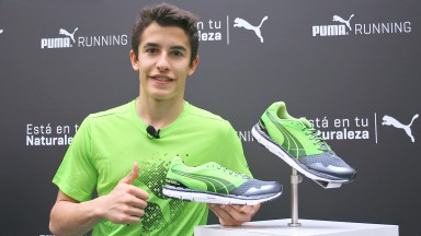 Marc Marquez presents Puma Running