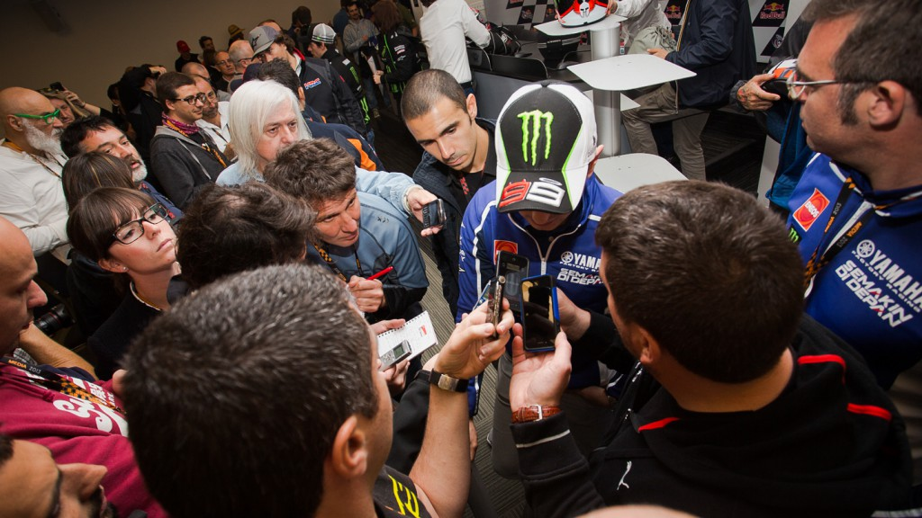 Jorge Lorenzo, Red Bull Grand Prix Of The Americas Press Conference