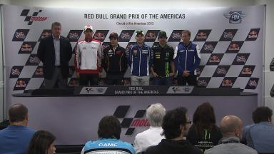 Red Bull GP of the Americas Pre-Event Press Conference