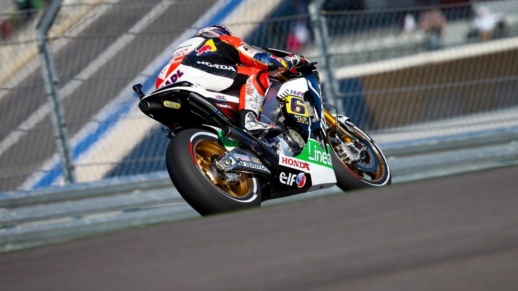 Stefan Bradl, LCR Honda MotoGP, COTA FP2