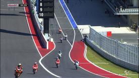 El debutante del Repsol Honda Team ha dominado al contingente de la categoría reina en la primera salida a pista del fin de semana. Márquez ha liderado casi de principio a fin la FP1 del Gran Premio Red Bull de las Américas, con Jorge Lorenzo, Dani Pedrosa y Andrea Dovizioso situados a su espalda.
