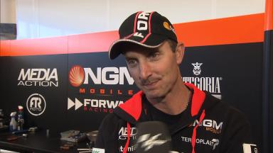 Edwards frustrated by 'wasted session'