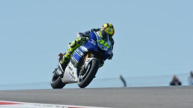 Valentino Rossi, Yamaha FActory Racing, COTA FP2