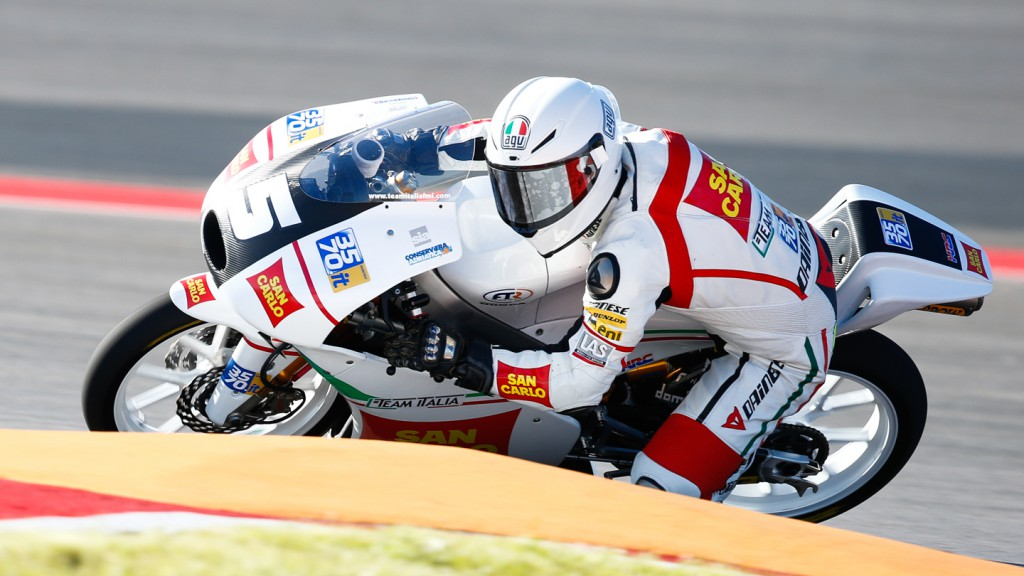 Romano Fenati, San Carlo Team Italia, COTA FP1