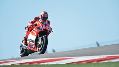 Nicky Hayden, Ducati Team, COTA FP2