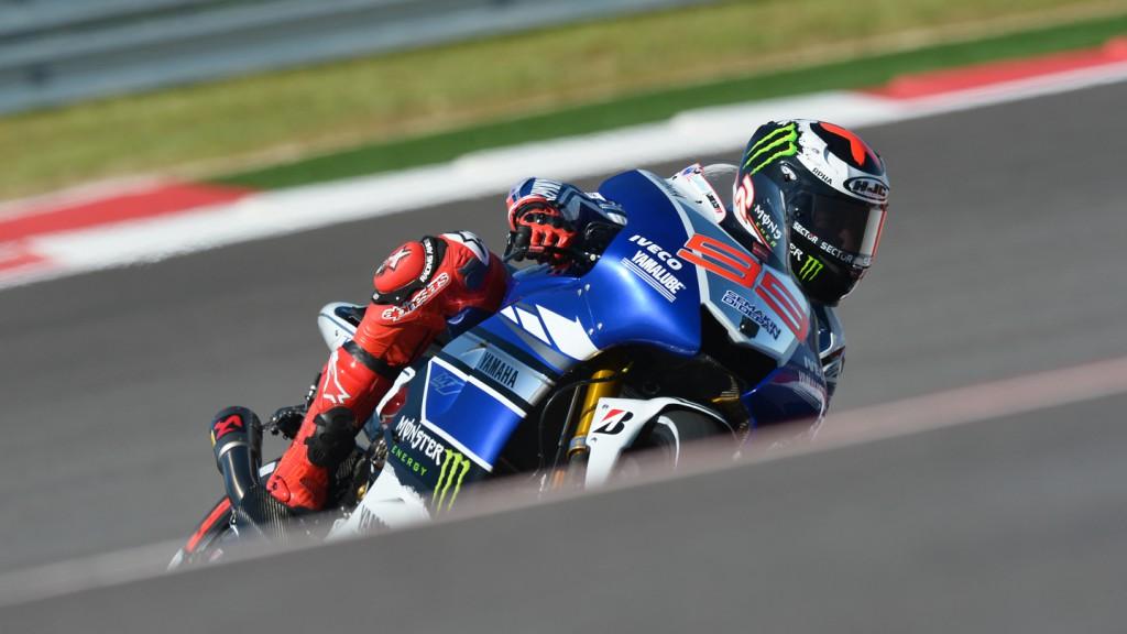Jorge Lorenzo, Yamaha Factory Racing, COTA FP2