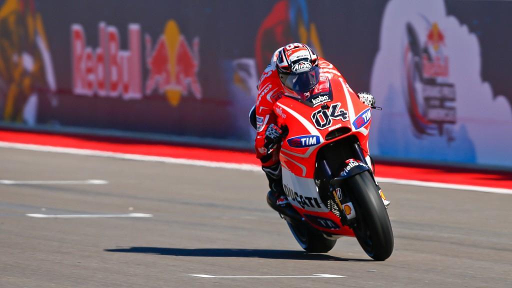 Andrea Dovizioso, Ducati Team, COTA Q2