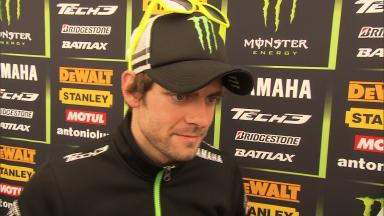 Crutchlow expected less than second row position