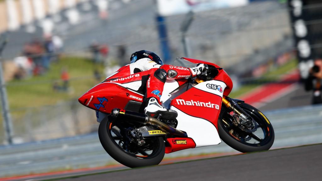 Miguel Oliveira, Mahindra Racing, COTA QP