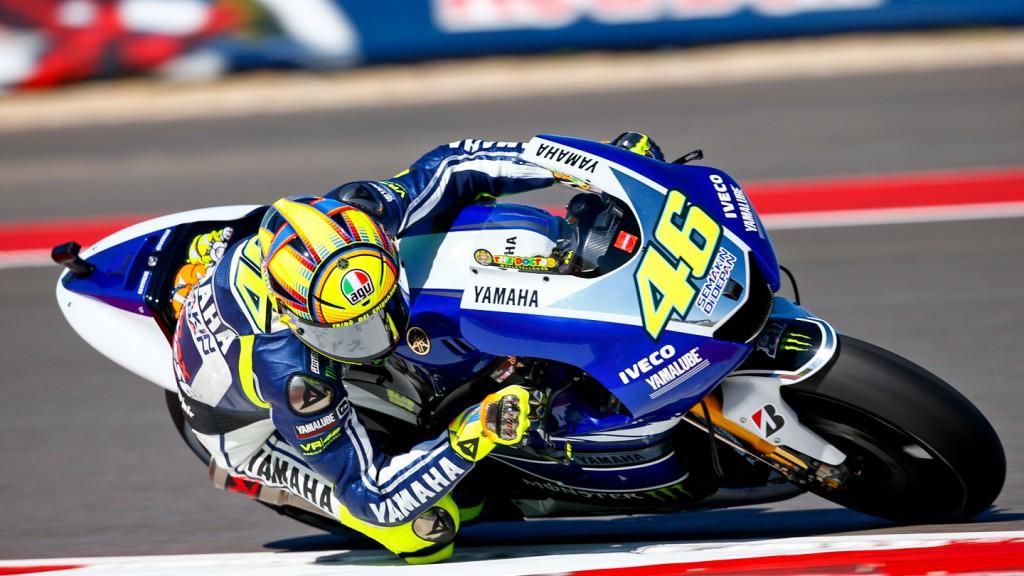 Valentino Rossi, Yamaha Factory Racing, COTA Q2