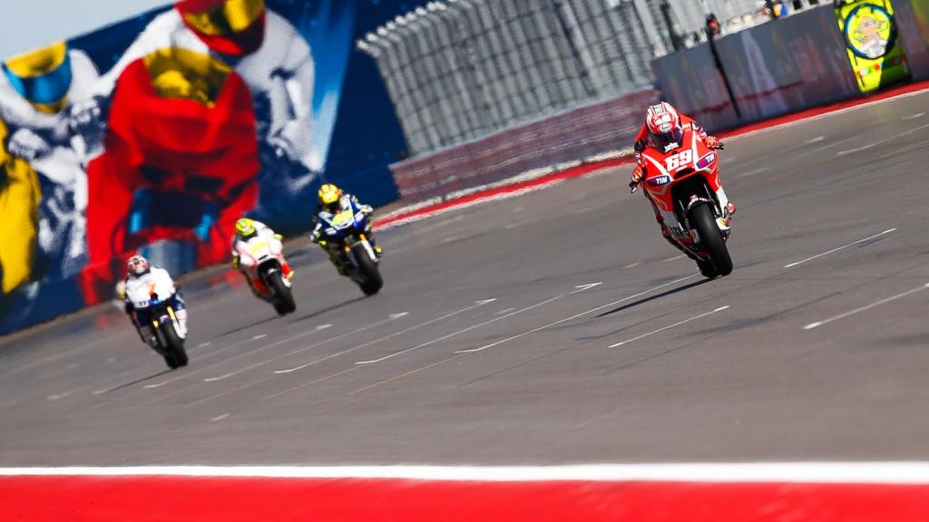 Nicky Hayden, Ducati Team, COTA Q2