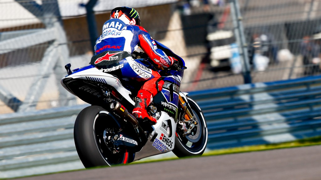 Jorge Lorenzo, Yamaha Factory Racing, COTA FP3