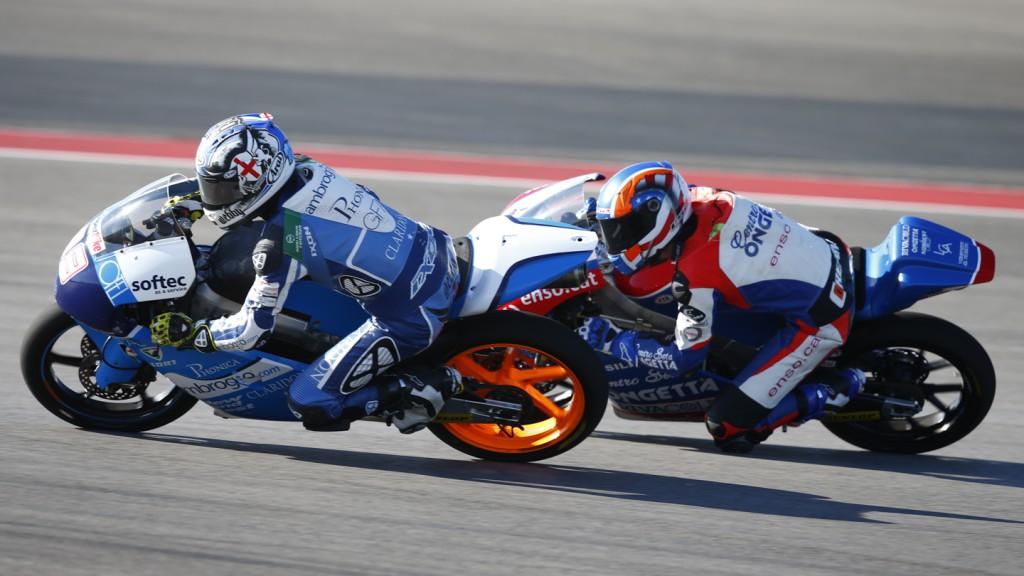Danny Webb, Ambrogio Racing, COTA FP2