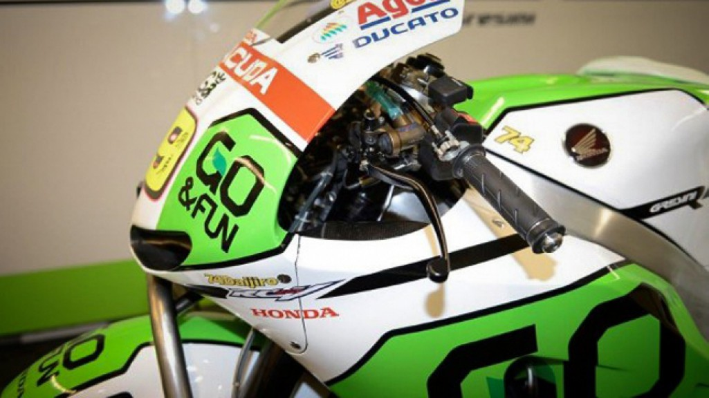 Bautista´s bike, detail, a tribute ti Dajuro Kato