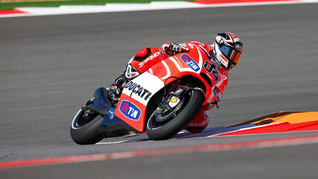 Andrea Dovizioso, Ducati Team, COTA RAC