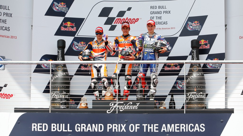 Pedrosa, Marquez, Lorenzo, Repsol Honda Team, Yamaha Factory Racing, COTA RAC