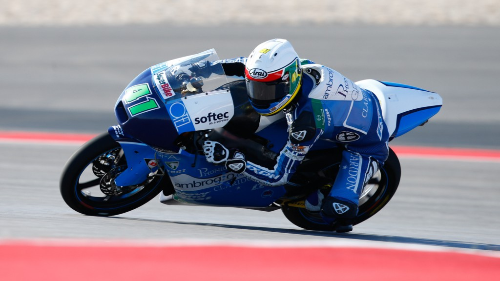 Brad Binder, Ambroghio Racing, COTA QP